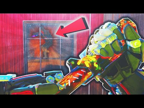 """SECRET ROOM GLITCH!! """"HIDE AND SEEK"""" WITH NEW BALLISTIC KNIFE! (Black Ops 3 Glitches Funny Moments)"""