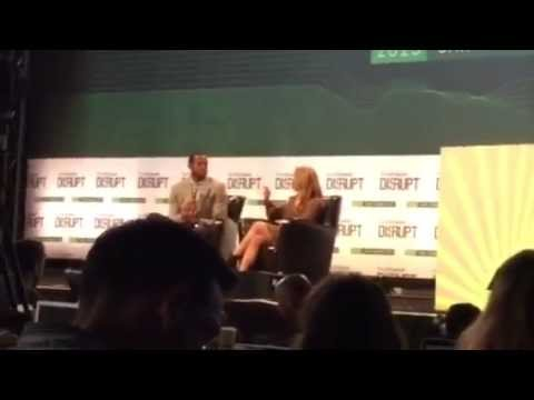 Andre Iguodala Of GS Warriors At Tech Crunch Disrupt #TCDisrupt