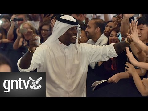 Hollywood star Tyrese Gibson back in UAE to promote Fast and Furious 8