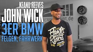 JP Performance - 3er BMW bekommt neue Schuhe!   John Wick Gewinnspiel