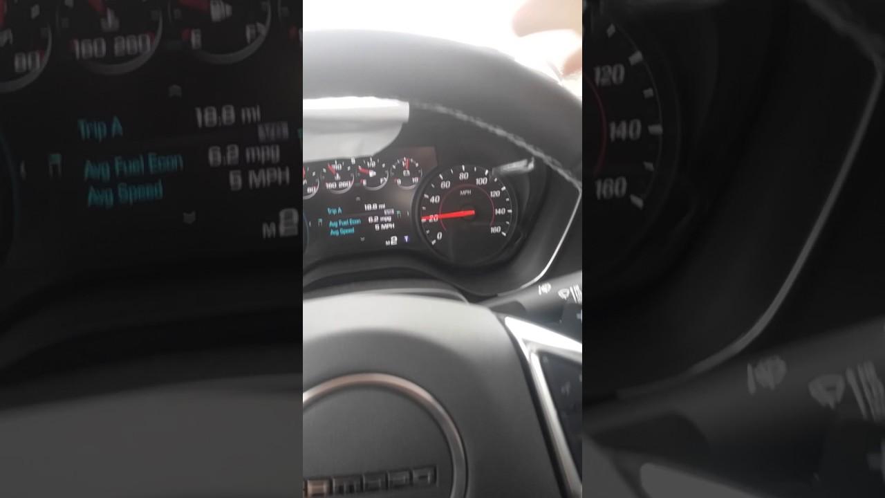 2017 Camaro V6 0 60 Test Drive