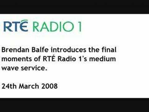 RTE Radio 1 MW closedown