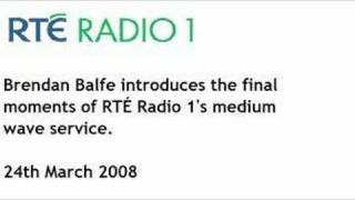 RTE Radio 1 MW closedown