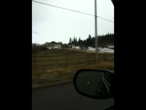Driving to Stewart Springs Mineral Bath in Mount Shasta