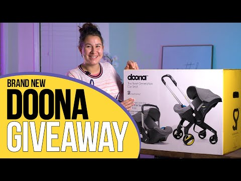 Win A Brand New Doona - March - April 4th 2020 Doona Car Seat / Stroller Giveaway