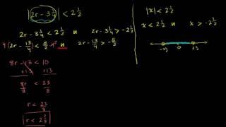 Неравенства с модулем (часть 2)