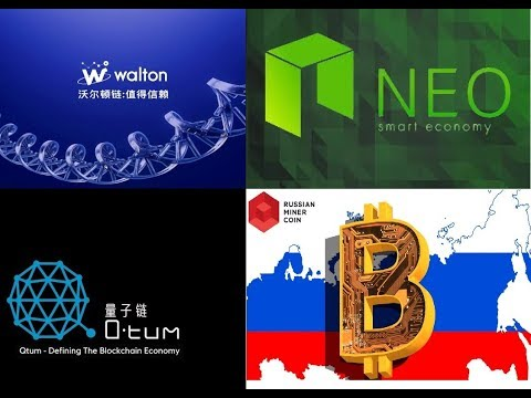 QTUM Mainnet Pump, NEO Still Sliding, Walton Coin Increase, Russian Mining Coin 37m Raised!