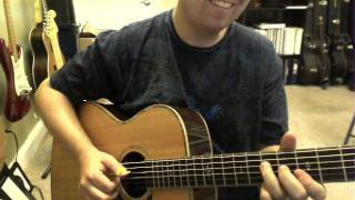 Smurfs Theme song on guitar (Fingerstyle)