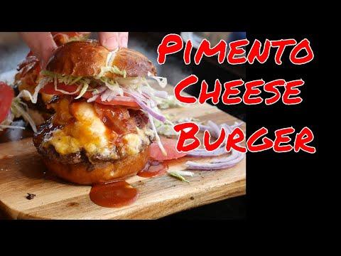 Pimento Cheese Bacon Burger-Blackstone Griddle Recipe