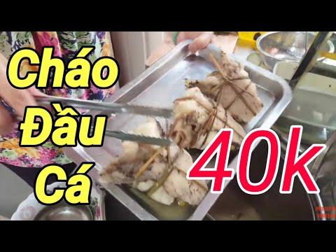 Cháo CÁ LÓC Ngon ở Trần Bình Trọng Quận 5 Sài Gòn