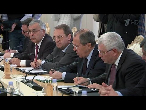 В Москве проходят переговоры глав МИД России, Сирии иИрака.