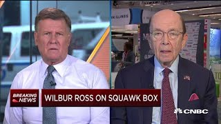 Wilbur Ross: We're cooperating with the census probe 'in a rational way'