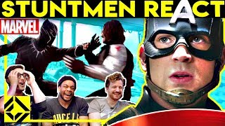 Stuntmen React To MARVEL Bad \u0026 Great Hollywood Stunts