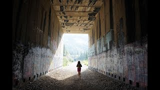 Exploring The Donner Railroad Tunnels