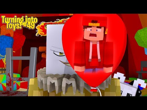 Minecraft Toys #49 - THE RETURN OF PENNYWISE THE CLOWN!!