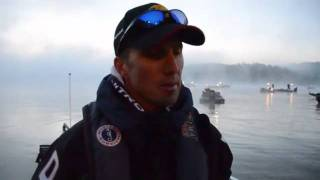 Edwin Evers on Day 2 Bassmaster Elite Series West Point