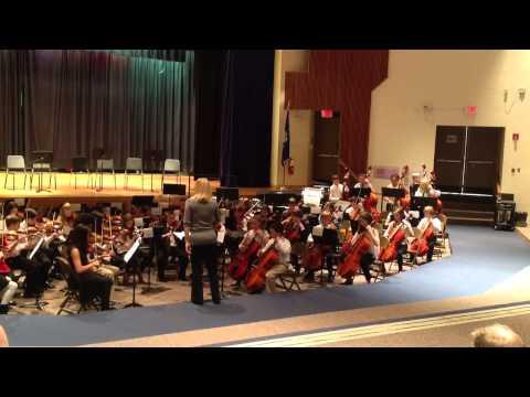 All City Orchestra, Nov 19, 2013, long lots school, 2