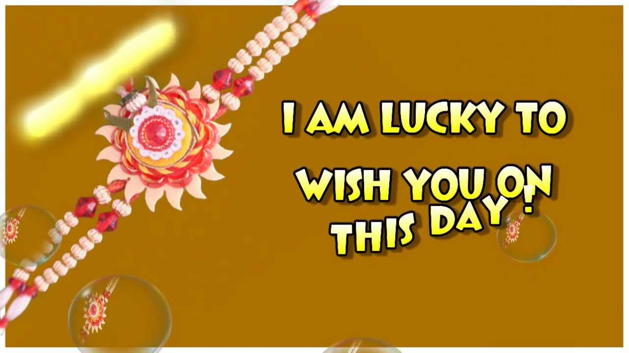 Rakhi Greetings Cards 2012 Free Raksha Bandhan Ecard Youtube