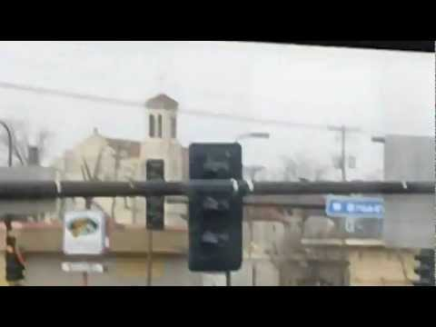 UFO over North Minneapolis 2011, Does Not show well on Cell Phones