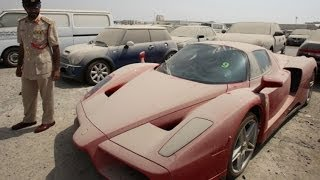 Abandoned Exotic Cars From Dubai And Around The World