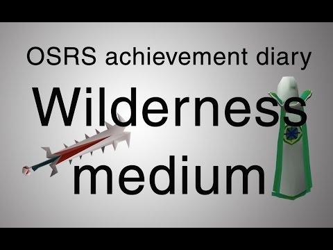 [OSRS] Wilderness medium diary guide