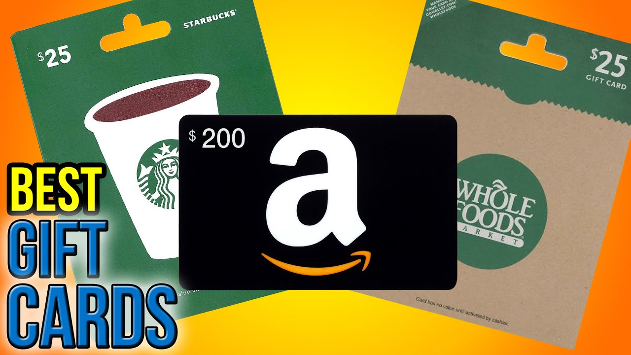 10 Best Gift Cards 2016 - YouTube