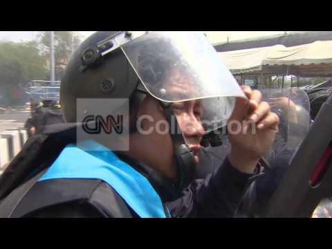 THAILAND ANTI-GOVT PROTESTS-BANGKOK OFFICER KILLED