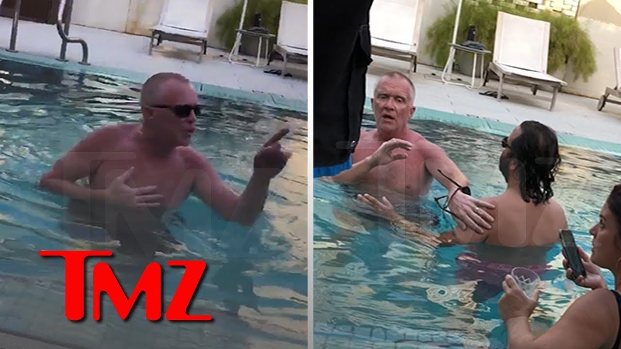 Anthony Michael Hall Apologizes for Berating Hotel Guests in Pool
