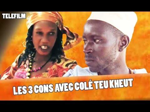 Théâtre Sénégalais - les 3 cons avec Collé Teukheute - (VFC)