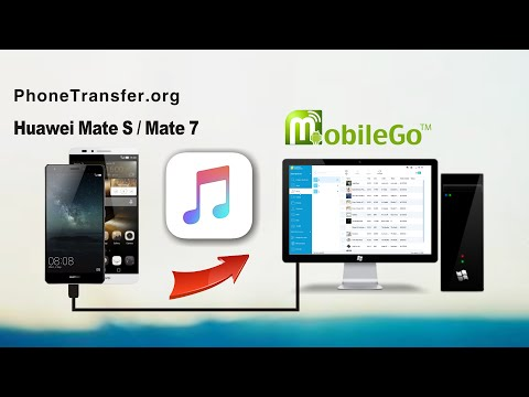 How to Transfer Music from Huawei Ascend Mate 8/Mate S/Mate 7 to Computer