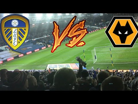 LEEDS FANS NOT GOING MENTAL😫 | LEEDS UNITED 0-3 WOLVES 2017/18!!