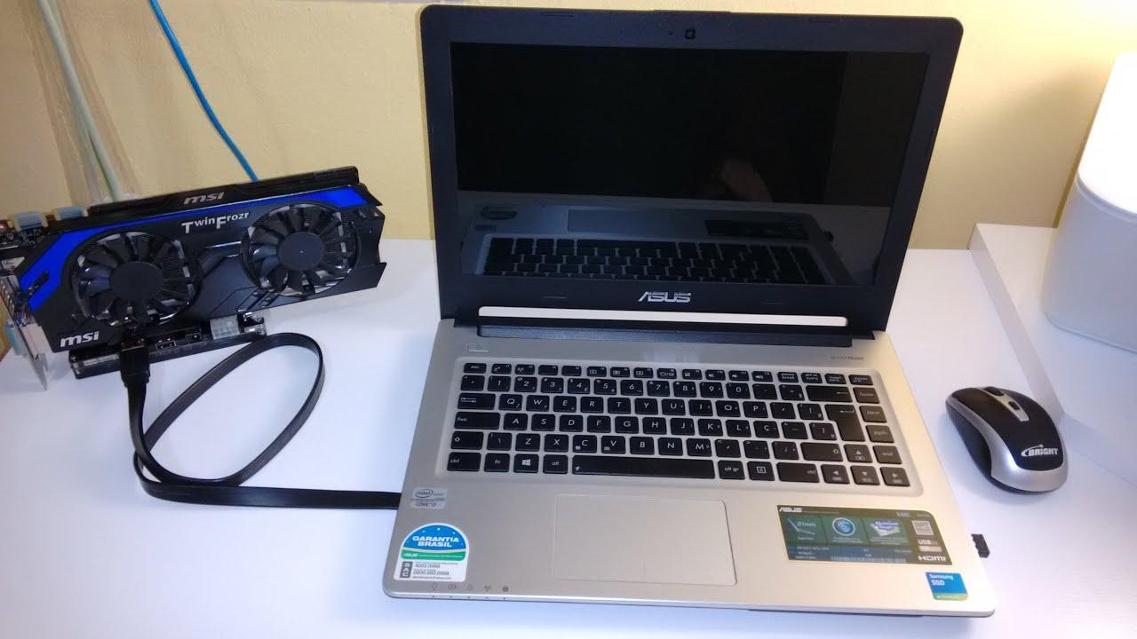 [UNBOX] eGPU EXP GDC Beast - Adaptador de Placa de Vídeo externa no Laptop / Banggood (PT-BR)