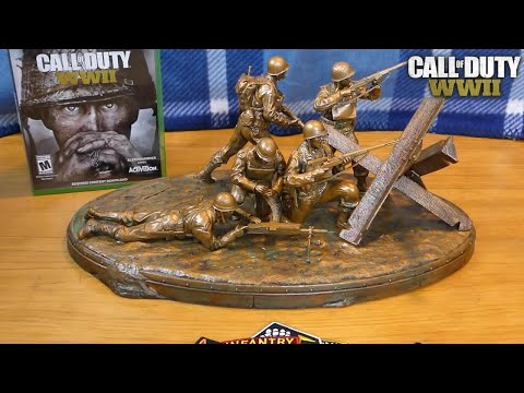 Call Of Duty WWII VALOR COLLECTOR'S EDITION - UNBOXING
