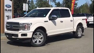 2018 Ford F-150 Platinum Technology EcoBoost SuperCrew Review| Island Ford