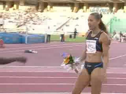 Lolo Jones Wins in Barcelona