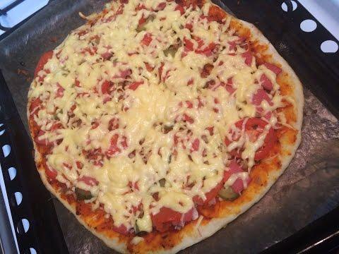 Очень вкусная домашняя пицца!!! Быстрый и легкий рецепт. Кулинария. Рецепты. Понятно о вкусном.