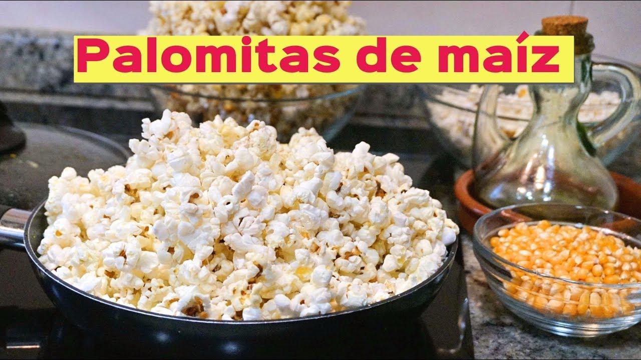 Palomitas de maíz a la sartén y microondas (dulces y saladas) - YouTube