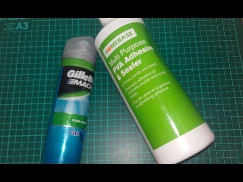 Testing Wood Glue and Shaving Gel SLIME!