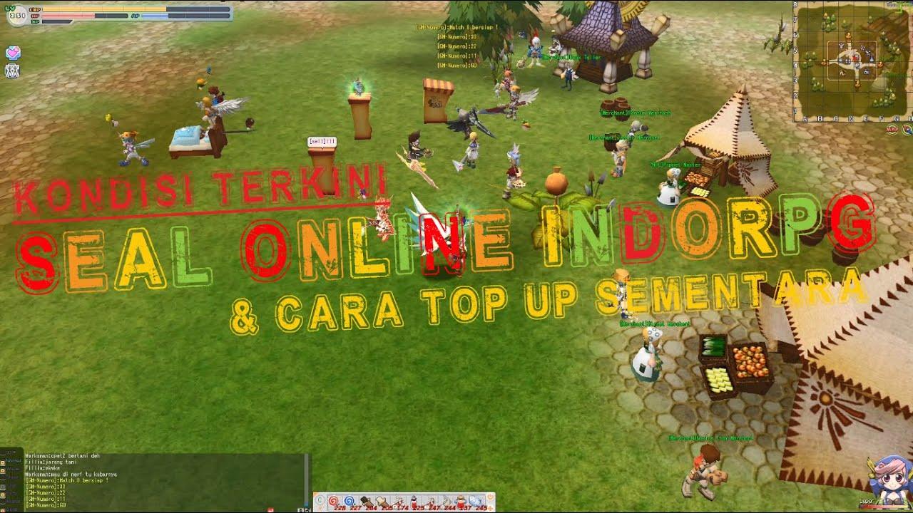 Kondisi Terkini Seal Online Private Server IndoRPG & Cara Top Up Sementara