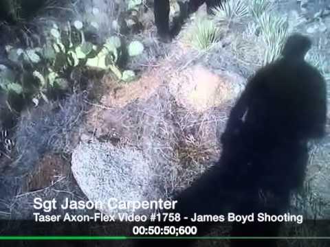 Sgt Jason Carpenter, APD, Taser AXON-FLEX Video, James Boyd Shooting