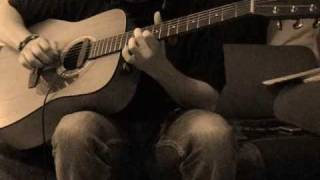 """Led Zeppelin"" ""Bron-Y-Aur Stomp"" Instrumental solo acoustic guitar"