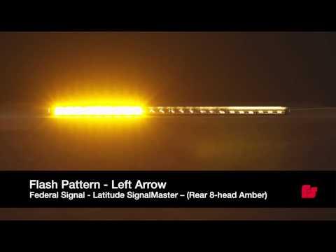 Federal Signal Latitude™ SignalMaster™  Flash Patterns
