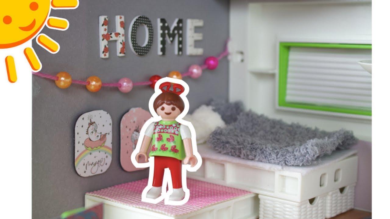 playmobil kinderzimmer f r maya pimp my playmobil familie sonnenschein dollhouse diy f r