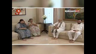 Watch: PM Modi visits Arun Jaitley's family along with Amit Shah