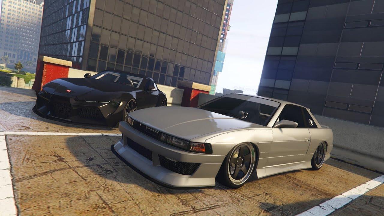 (PS4) LIVE GTA5   Car Meet/Cruising Sideshows & More