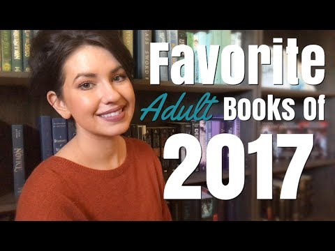 FAVORITE ADULT BOOKS OF 2017