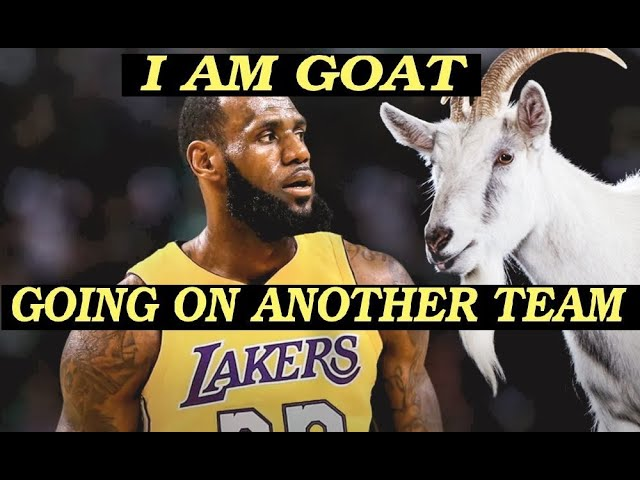 Is James LeBron James the GOAT?