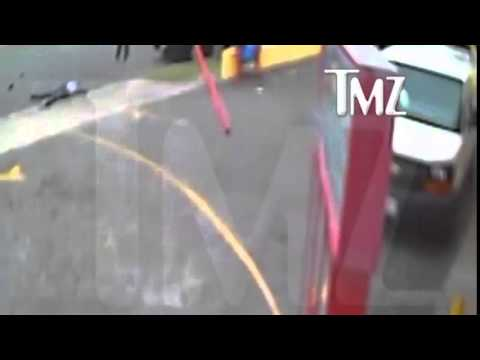 (OFFICIAL) Suge Knight Hit And Run Video Released Online by TMZ RAW VIDEO
