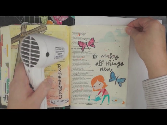How to use Graphics in Bible Journaling