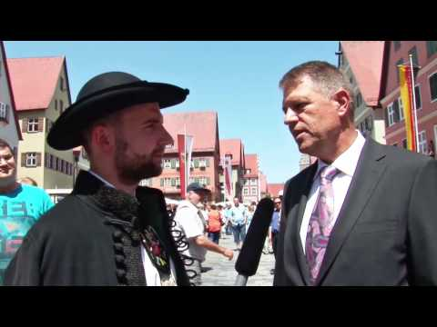 Interview with Klaus Iohannis, Transylvania Saxon president of Romania 2014